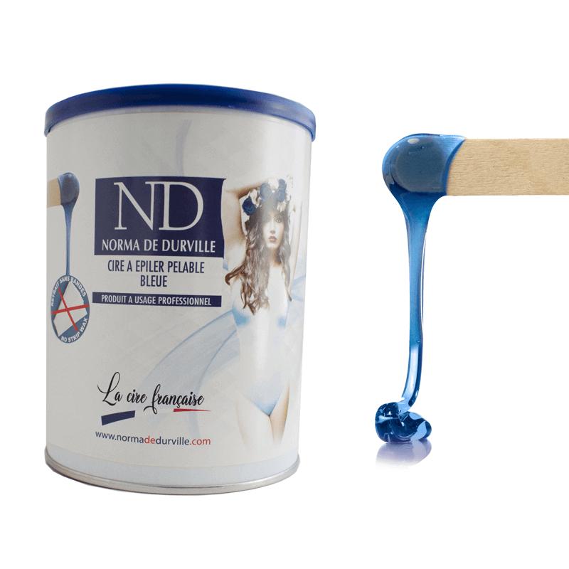 Cire bleu norma de durville professionnelle épilation pas cher (1)