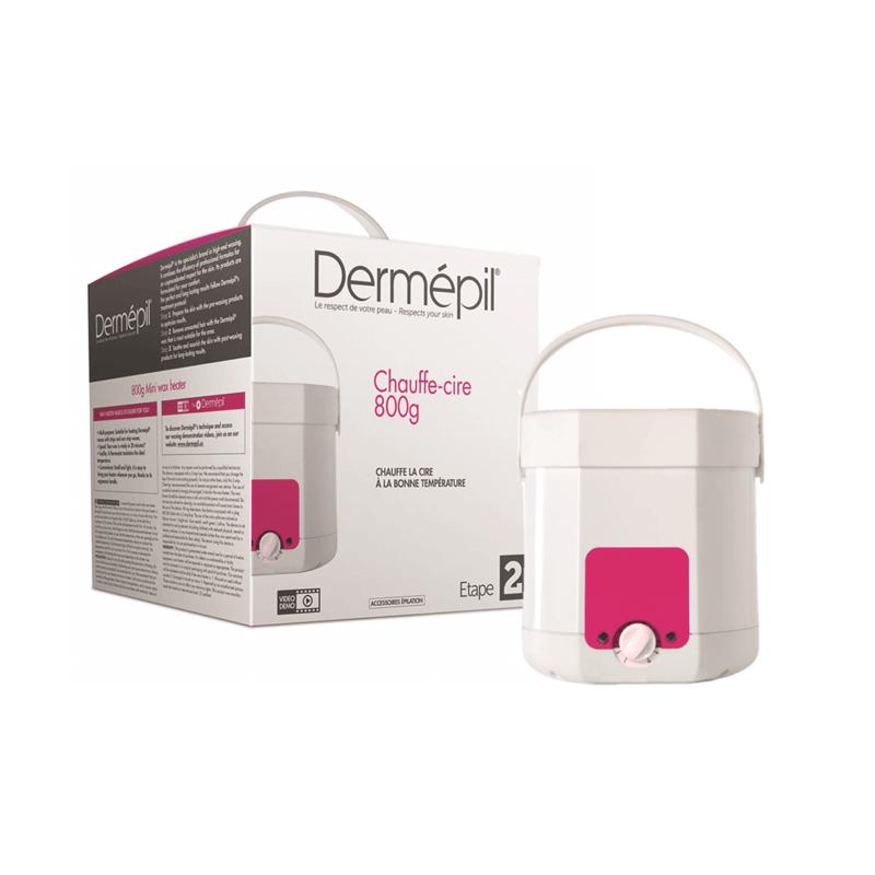 Chauffe-pot-cire-épilation-dermépil-perron-rigot